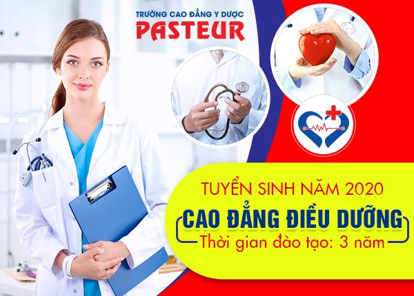 Trường Cao đẳng Y Dược Pasteur Hà Nội thông báo tuyển sinh Cao đẳng Điều dưỡng